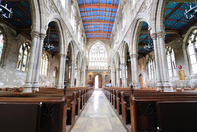 Catedral en Beverley, Inglaterra del St. Maria imagenes de archivo