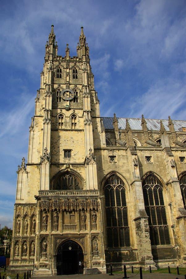Catedral en Cantorbery imágenes de archivo libres de regalías