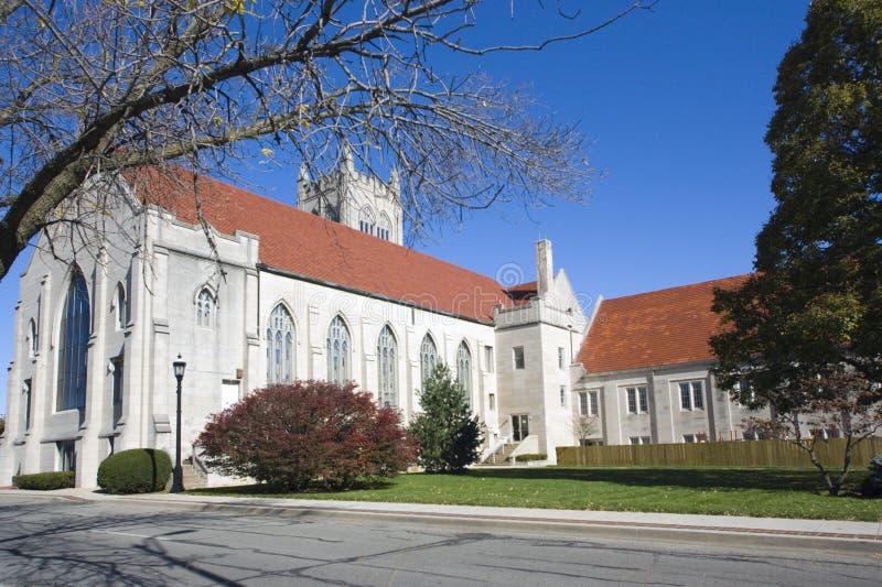 Catedral en chamán foto de archivo