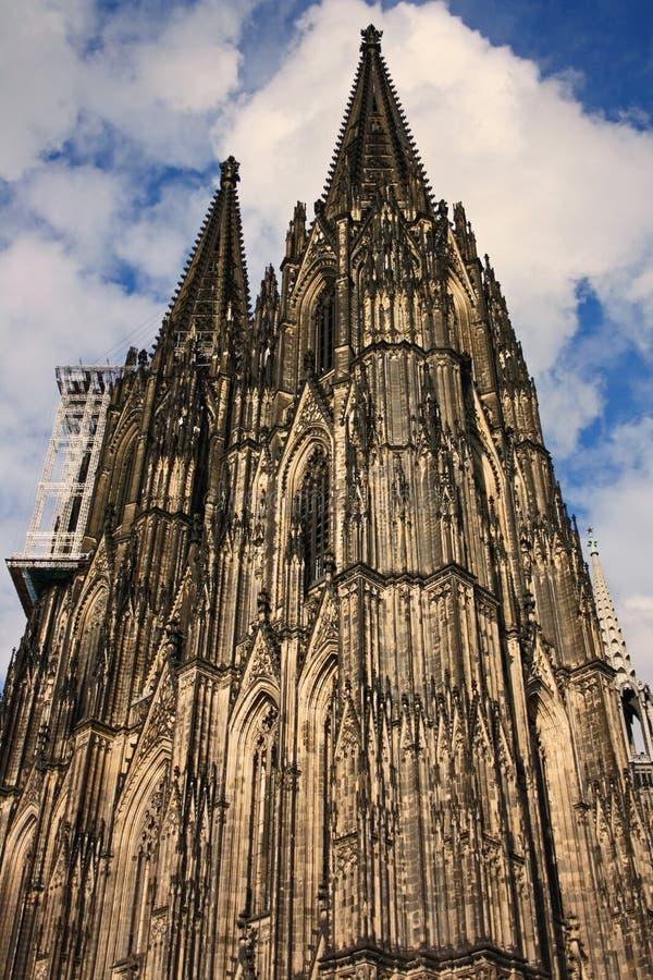 Catedral en Colonia (Alemania) imagen de archivo libre de regalías