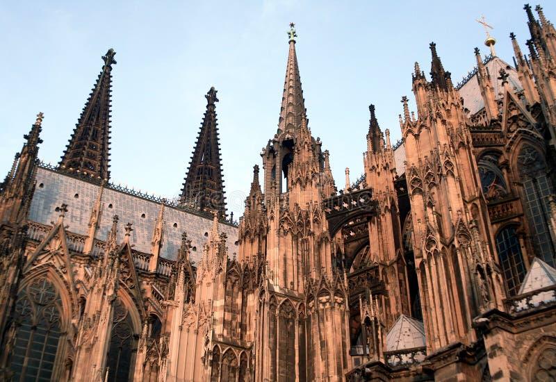 Catedral en Colonia Alemania fotografía de archivo libre de regalías