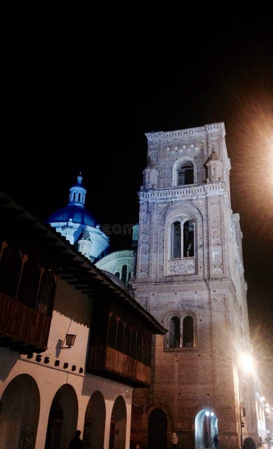 Catedral en Cuenca imagen de archivo