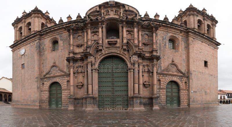 Catedral en Cuzco, Perú foto de archivo
