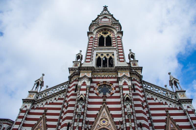 Catedral en el aislamiento foto de archivo libre de regalías