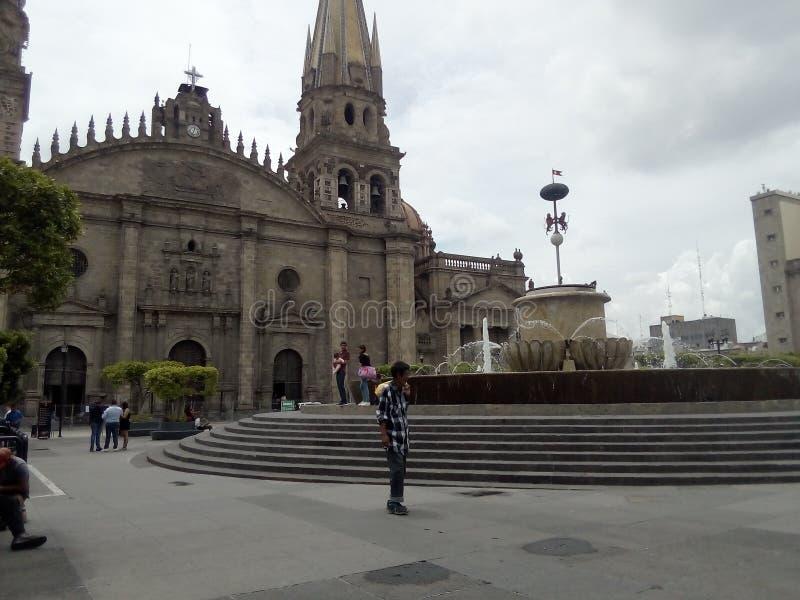 Catedral en Guadalajara imágenes de archivo libres de regalías