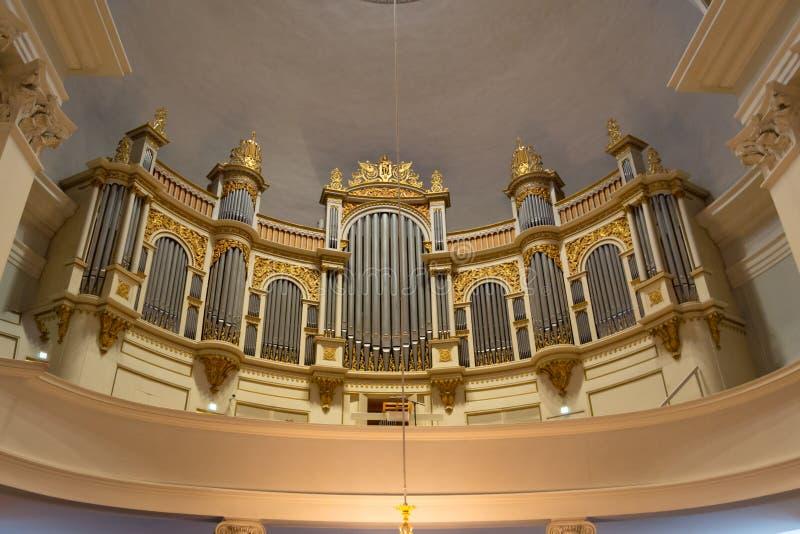 Catedral en Helsinki, Finlandia foto de archivo