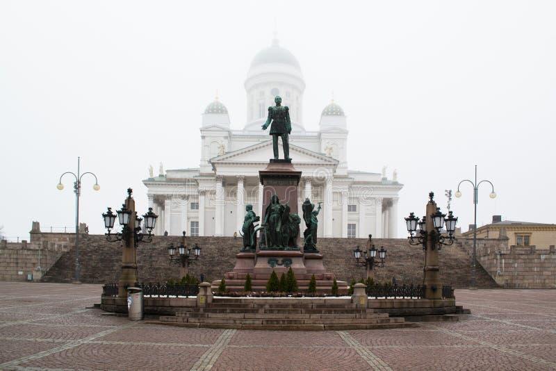 Catedral en Helsinki, Finlandia imagen de archivo libre de regalías