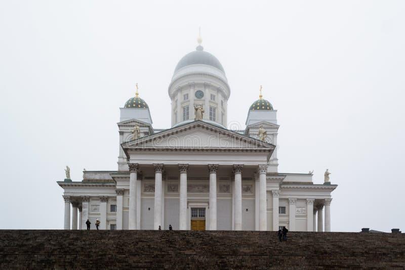 Catedral en Helsinki, Finlandia fotos de archivo libres de regalías