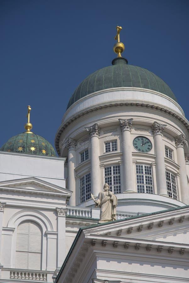 Catedral en la ciudad vieja de Helsinki, Finlandia fotografía de archivo libre de regalías