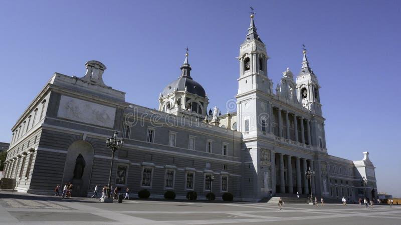 Catedral en Madrid fotografía de archivo