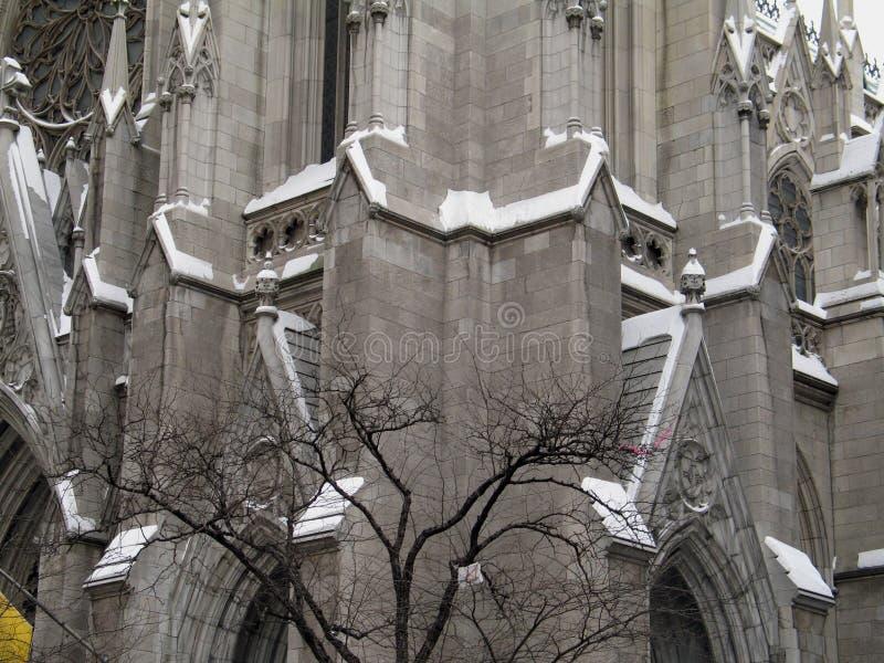 Catedral En Nieve Fotos de archivo libres de regalías