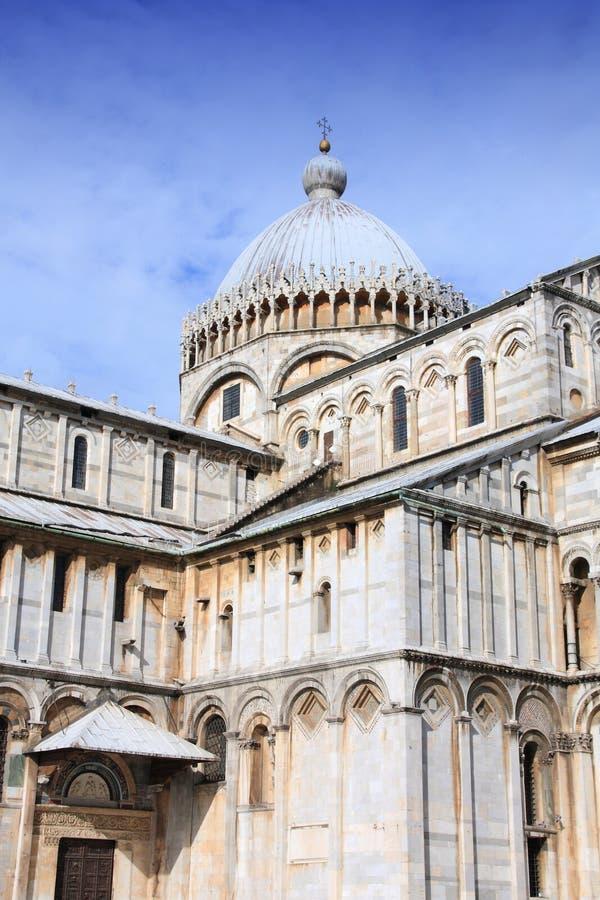 Catedral en Pisa, Italia foto de archivo libre de regalías