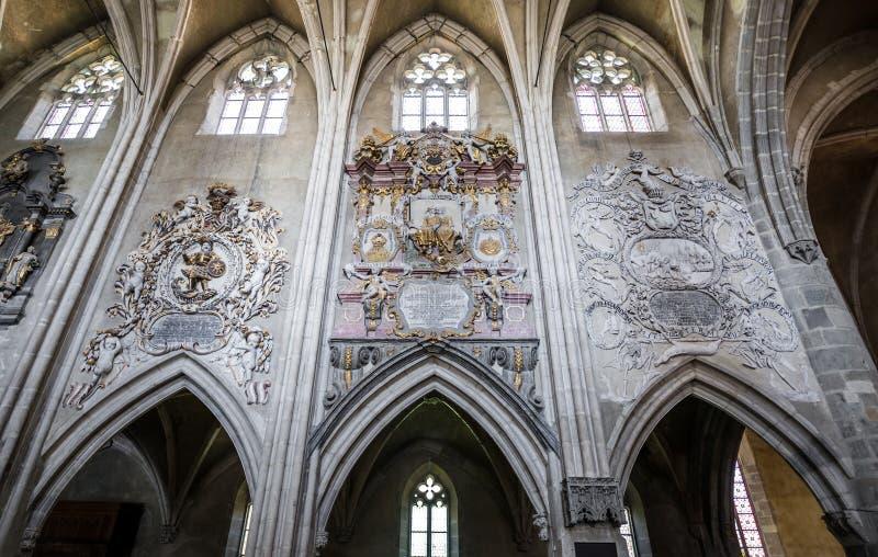 Catedral en Sibiu imágenes de archivo libres de regalías