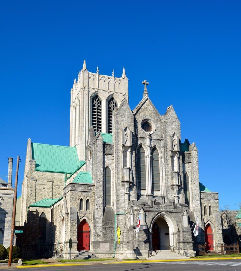 Catedral episcopal fotografia de stock