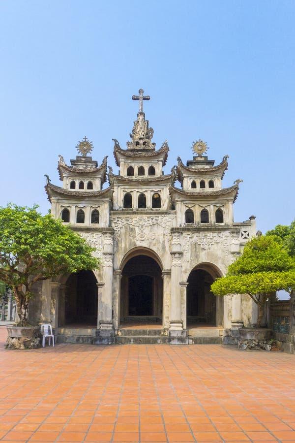 Catedral fantástica Vietnam de Diem imágenes de archivo libres de regalías