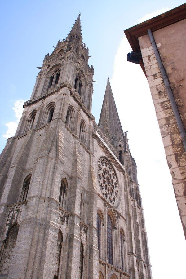 Catedral francesa fotografia de stock