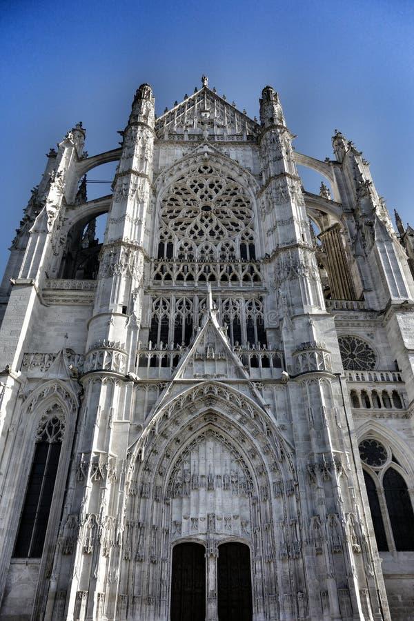 Catedral francesa imagen de archivo libre de regalías