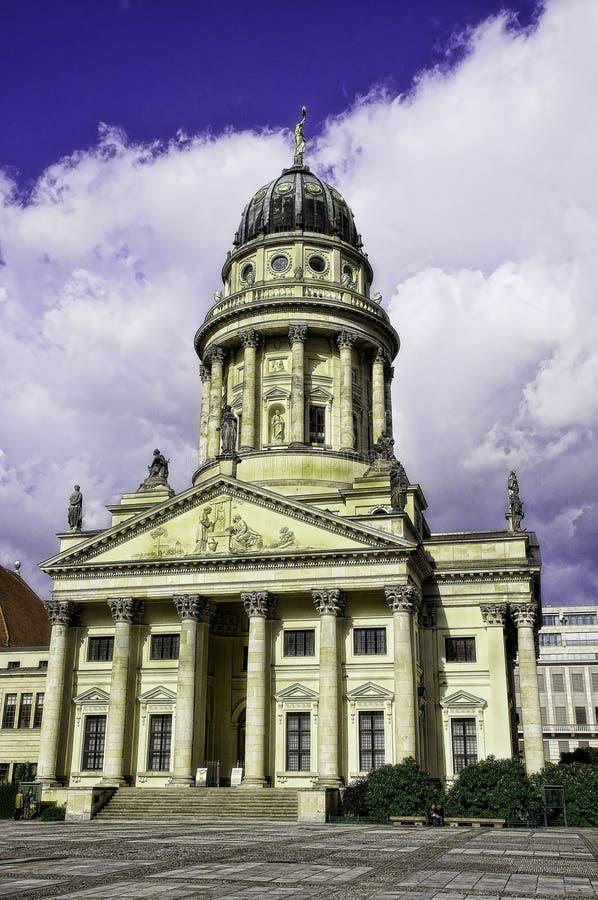 Catedral francesa Berlin Germany fotos de archivo libres de regalías