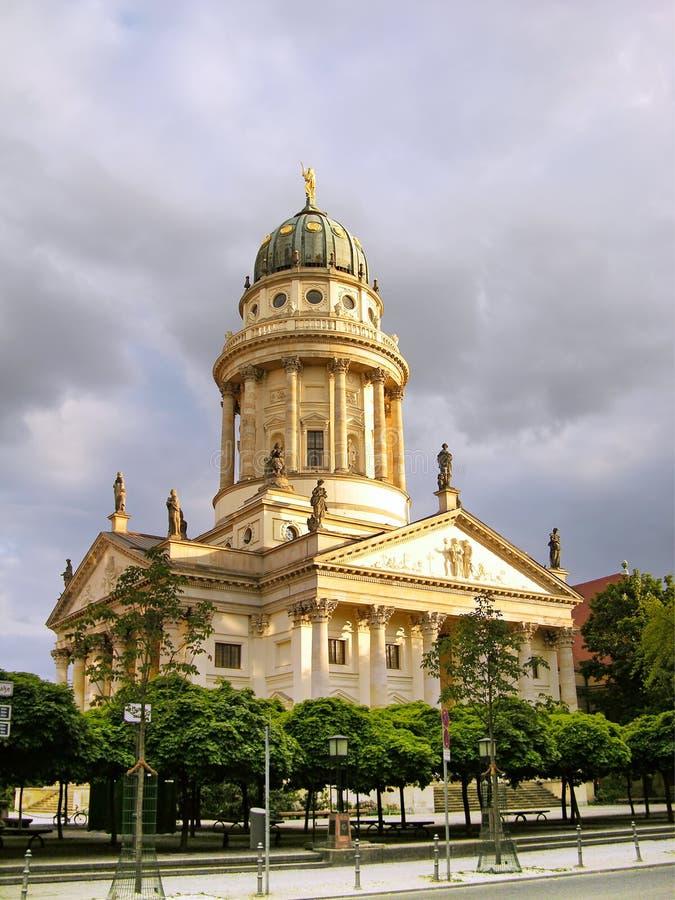 Catedral francesa (os DOM) de Franzoesischer, Berlim fotografia de stock royalty free