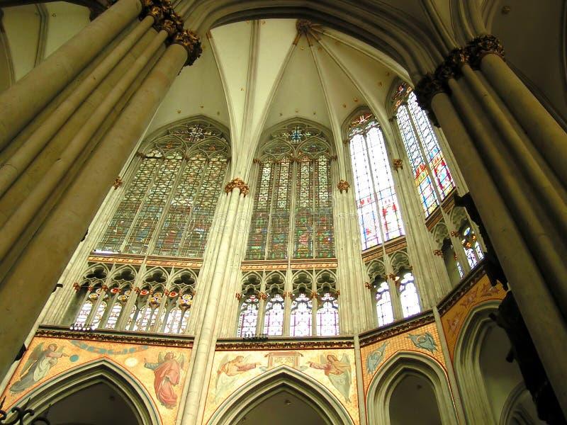 Catedral gótica foto de archivo libre de regalías
