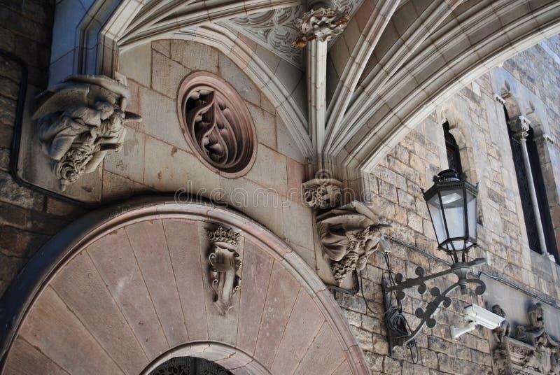 Catedral gótica, España imagen de archivo libre de regalías