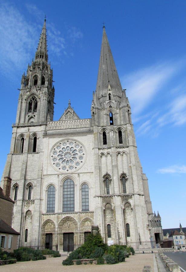 Catedral gótica hermosa fotos de archivo libres de regalías