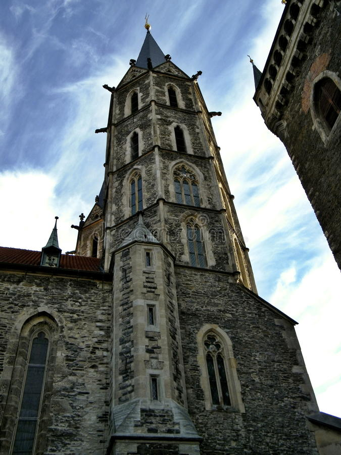 Catedral gótico fotografia de stock
