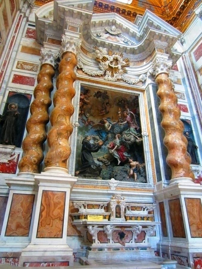 Catedral, Genoa foto de stock