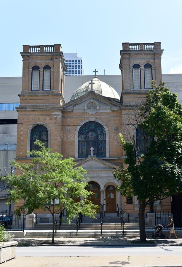 Catedral grega foto de stock royalty free