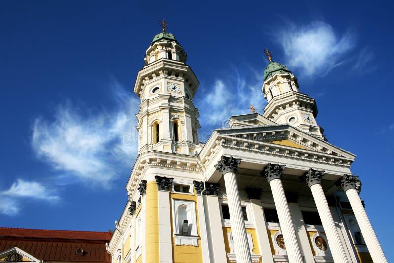 Catedral Griego-Católica foto de archivo libre de regalías