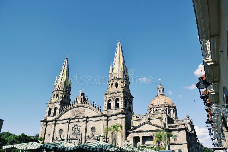Catedral Guadalajara arkivbild