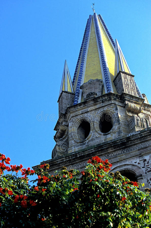 Catedral Guadalajara, México fotos de stock