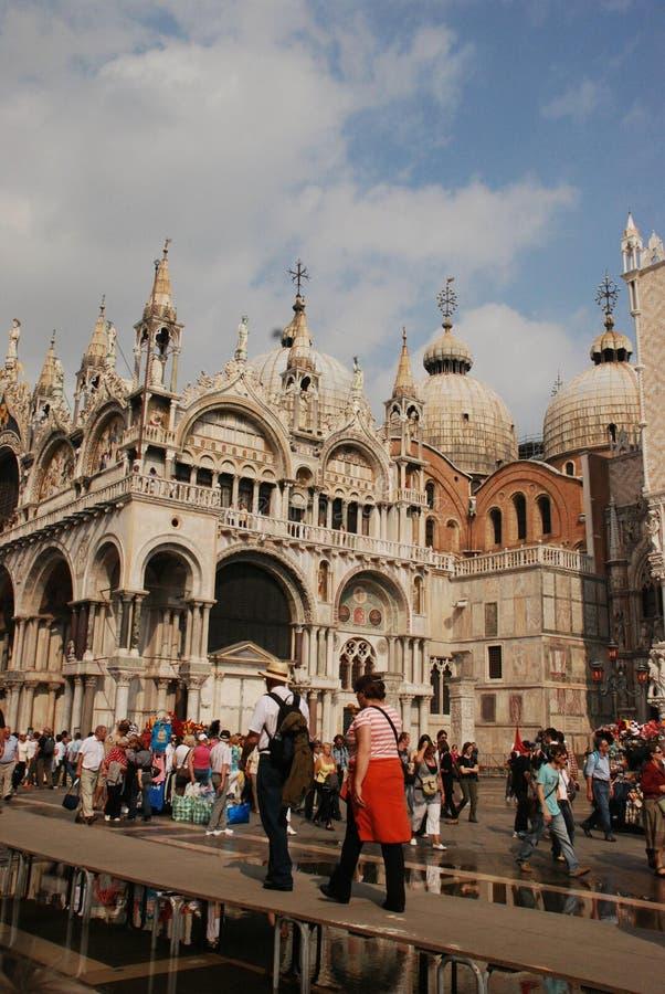 Catedral hermosa San Marco fotografía de archivo