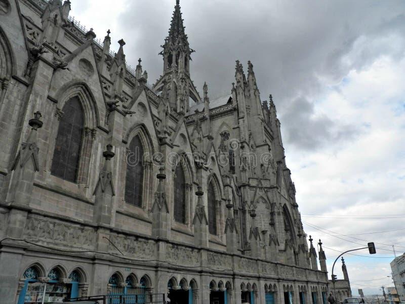 Catedral histórica imagen de archivo