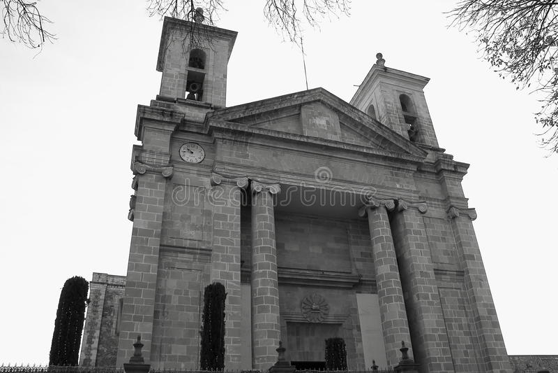 Catedral II de Tulancingo fotografía de archivo libre de regalías