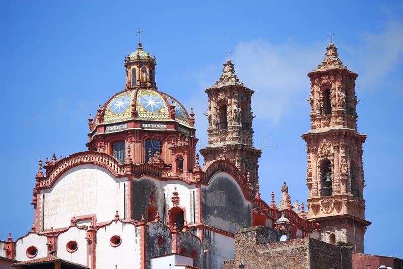 Catedral III de Taxco fotos de stock royalty free