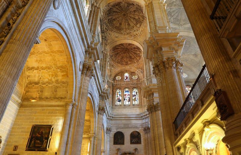 Download Catedral Interior De Málaga--es Una Iglesia Del Renacimiento En La Ciudad De Málaga, Andalucía, España Meridional Imagen de archivo - Imagen de antigüedad, andalusia: 44857523