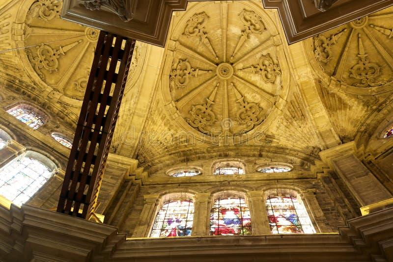 Download Catedral Interior De Málaga--es Una Iglesia Del Renacimiento En La Ciudad De Málaga, Andalucía, España Meridional Foto de archivo - Imagen de día, cristianismo: 44857604