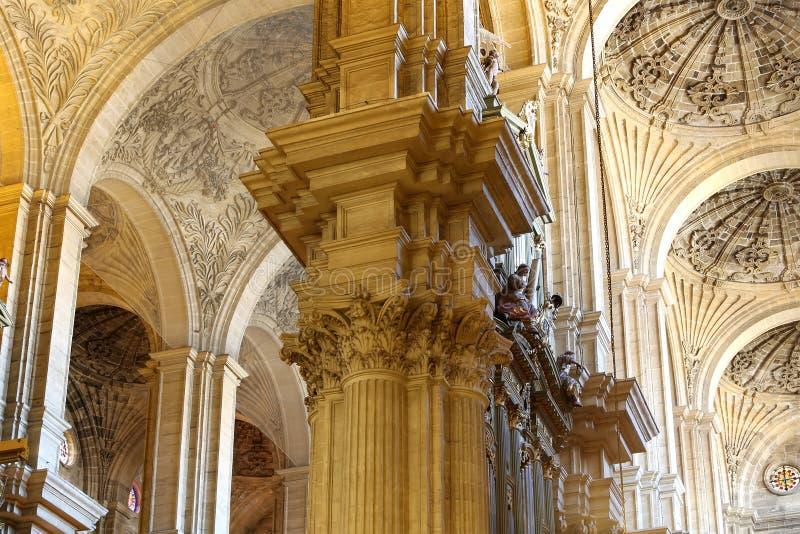 Download Catedral Interior De Málaga--es Una Iglesia Del Renacimiento En La Ciudad De Málaga, Andalucía, España Meridional Imagen de archivo - Imagen de iglesia, europa: 44857753