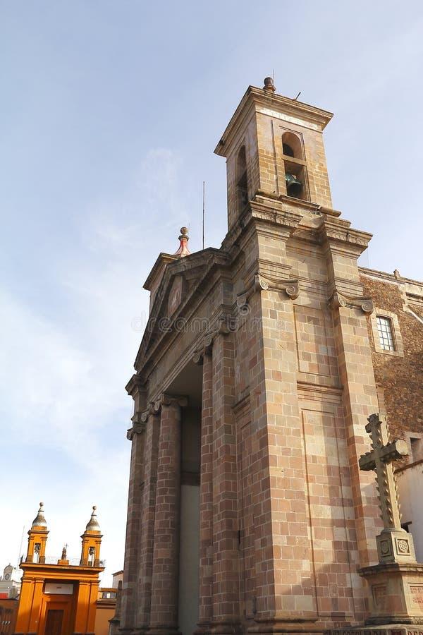 Catedral IV de Tulancingo fotografía de archivo