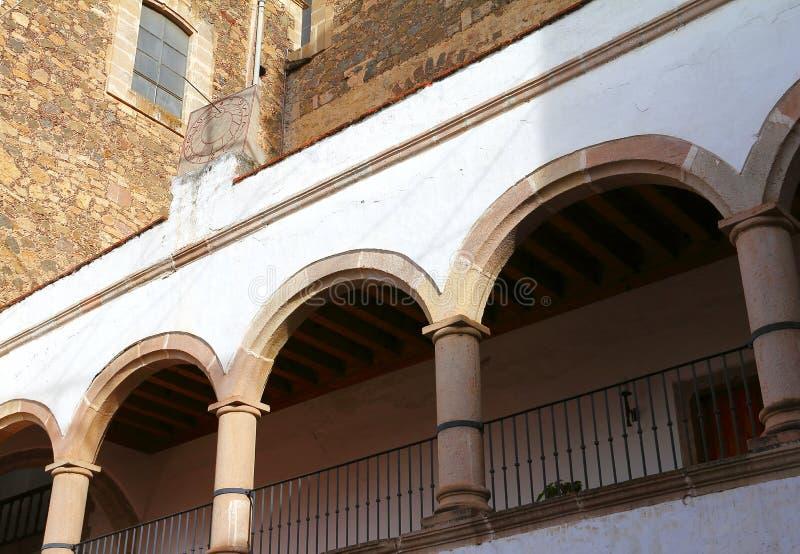 Catedral IX de Tulancingo fotografía de archivo