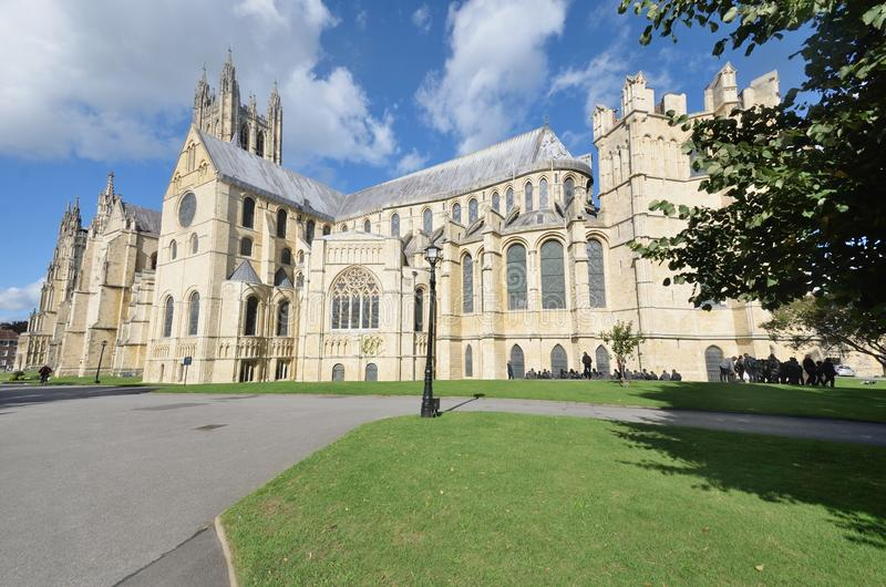 Catedral Kent Reino Unido de Cantorbery foto de archivo libre de regalías