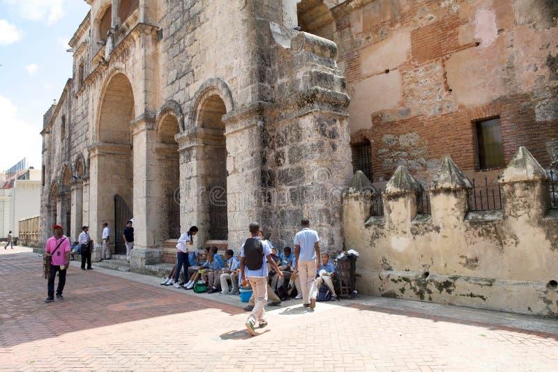 catedral la fördärvar menoren santa arkivbilder