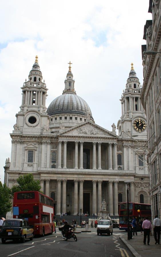 Catedral Londres do St Paul fotografia de stock