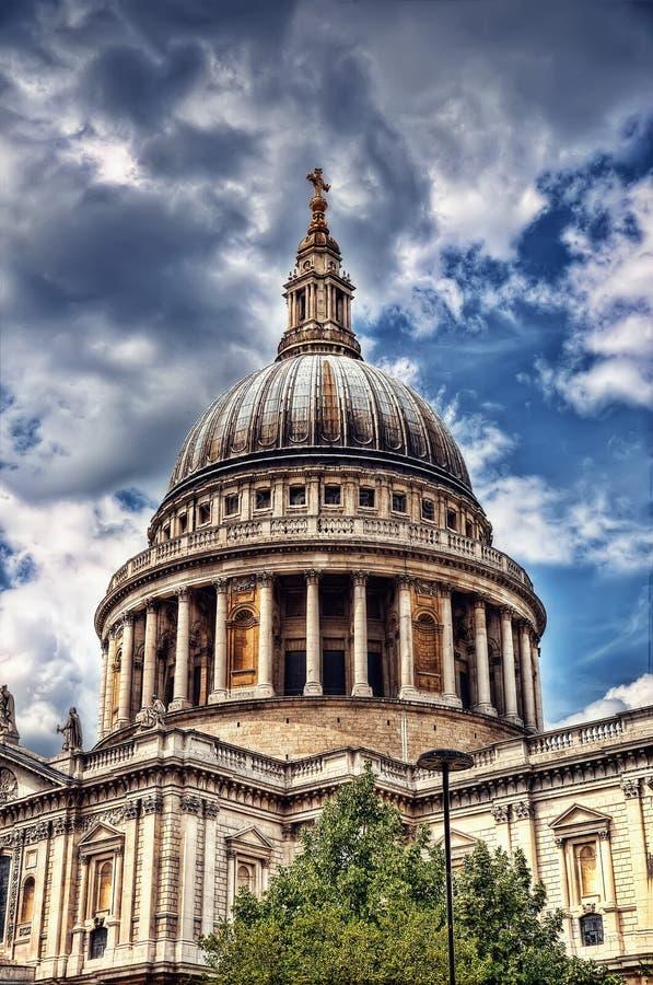 Catedral Londres Reino Unido do St Pauls fotografia de stock royalty free