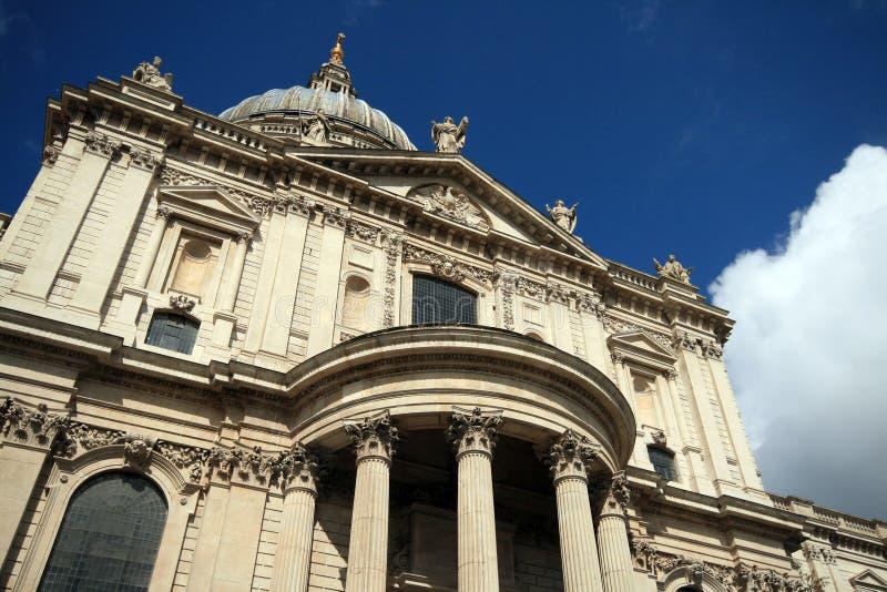Catedral Londres Reino Unido do St Pauls imagem de stock