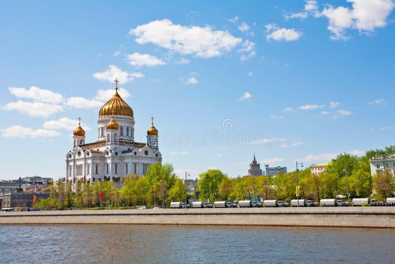 Catedral magnífica na honra de Christ foto de stock