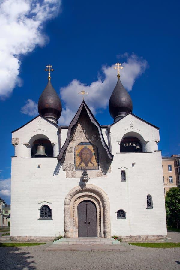Catedral Martha e Mary Convent de Pokrovsky foto de stock royalty free