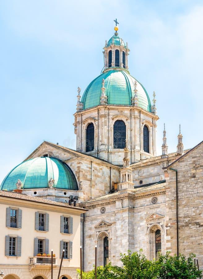 Catedral medieval de Como, Duomo di Como, Italia fotografía de archivo
