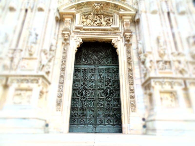 Catedral Mediolan obraz royalty free